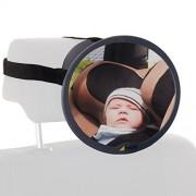 Hauck 618370 Watch Me 1, Specchio per Interno Auto, Multicolore