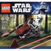LEGO Star Wars Set #30005 Imperial Speeder Bike