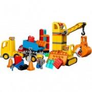 LEGO® DUPLO® Șantier mare 10813