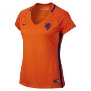 Camiseta de fútbol para mujer Netherlands Stadium de local, temporada 2016