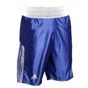 Shorts de Boxe Adidas Blue & White - P
