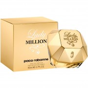 Lady million paco rabanne eau de parfum spray donna 80 ml