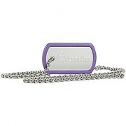 Verbatim 98512 8Gb Dog Tag Usb Flash Drive - Violet