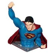 SUPERMAN VUELO BUSTO PVC 12 CM SUPERMAN RETURNS