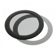 Filtru de praf DEMCiflex Dust Filter Round 80mm - Black/Black