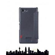 Etui Nillkin Sparkle Sony Xperia E3 Czarne - Czarny