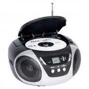 CD PLAYER RÁDIO PORTATIL DAZZ MP3 AM/FM USB