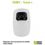 DELTA DORE Détecteur de mouvement bi-lentille VIDEO Radio - DMBV TYXAL+ Delta Dore 6412287