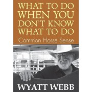 What to Do When You Don't Know What to Do by Wyatt Webb