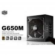 COOLER MASTER Fuente Poder G650M 650W Modular 80Plus RS650-AMAAB1-US