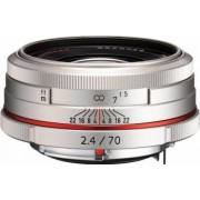 Obiectiv Foto Pentax-Ricoh 70mm f2.4 DA HD Limited Silver
