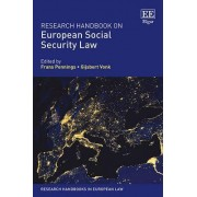 Research Handbook on European Social Security Law by Frans Pennings