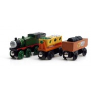 Thomas And Friends Wooden Railway - Whiff and the Scrap Cars by Learning Curve