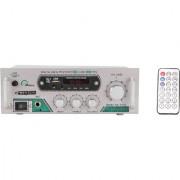 Bexton Multimedia BX9500 200 W AV Power Amplifier (Silver)