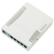 Router Wireless MikroTik RB951G-2HnD, Gigabit, 1xUSB, Antena interna 2.5 dBi