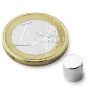 Magnet neodim disc, diametru 6 mm, putere 1,3 kg