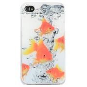 Hardcase Epoxy Dresz: iPhone 4/4S Fish
