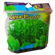 PENN PLAX Umelé rastliny 10,2cm zelené 6ks sada