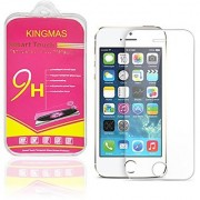 KINGMAS Tempered Glass Screen Cover Protector for iPhone SE / 5S / 5C / 5