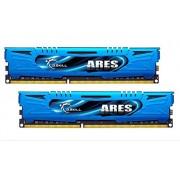 G.Skill F3-1866C9D-8GAB Memoria RAM (Intel XMP Ready), Azzuro