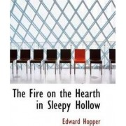 The Fire on the Hearth in Sleepy Hollow by Edward Hopper