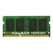 Kingston ValueRAM - DDR3 - 2 Go - SO DIMM 204 broches - 1600 MHz / PC3-12800 - CL11 - 1.5 V - mémoire sans tampon - non ECC