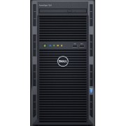 Serveur Dell PowerEdge T130 - Chassis 4x3.5' - E3-1220v6 - 8GB - 2x1TB - DVDRW - OB LOM DP - Perc H330 - iDRAC8 Basique - Garantie 3 ans basique J+1