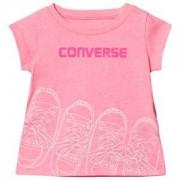 Converse Kicks Graphic T-shirt Pink Glow 12 months