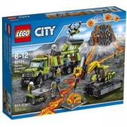 Конструктор Лего Сити - База Вулкан LEGO City, 60124