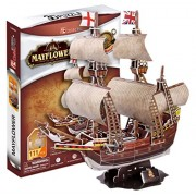 Cubicfun Mayflower Sailing Ship (111Pcs) Cubic Fun