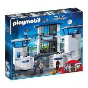 Playmobil 6872 Commissariat De Police Avec Prison