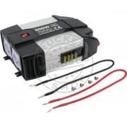 Inverter / Áramátalakító 12V 600W+USB SZINUSZOS