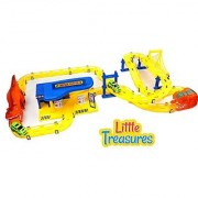 Little Treasures Race Track with Repair Center Racing Tracks Series