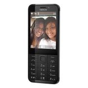 Microsoft Nokia 230 Smartphone débloqué 2G (Ecran: 2,8 pouces - 32 Go - Double SIM) Noir