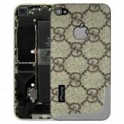 iPhone 4 Bakstycke Gacci (Guld)