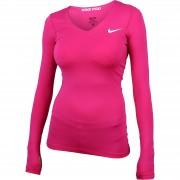 Bluza femei Nike Pro LS V-Neck Longsleeve 589368-612