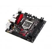Carte mre ASUS B150I PRO GAMING/WIFI/AURA Mini-ITX Socket 1151 Intel B150 Express - SATA 6Gb/s - DDR4 - USB 3.0 - M.2 - PCI-Express 3.0 16x - Wi-Fi AC et Bluetooth 4.1
