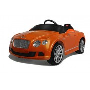 Vroom Rider Bentley GTC Rastar 6V Battery Operated/Remote Controlled Ride On, Orange