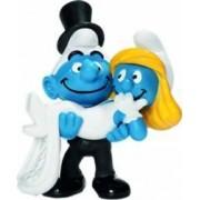 Figurina Schleich Smurf Bride and Groom