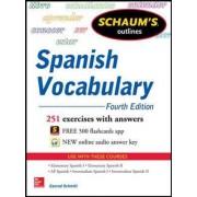 Schaum's Outline of Spanish Vocabulary by Conrad J. Schmitt