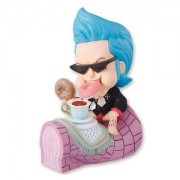 Frankie gangs single item of tea party straw in the country of Petit Chara Land One Piece wonder (japan import)