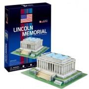 3D three-dimensional puzzle Lincoln Memorial (japan import)