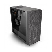 Gabinete Thermaltake Core G21 Tempered Glass Edition, Midi-Tower, ATX/Micro-ATX/Mini-ITX, USB 3.0, sin Fuente, Negro