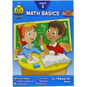 School Zone Curriculum Workbooks, Math Basics Grade 2