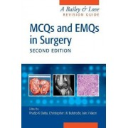 MCQs and EMQs in Surgery by Pradip Datta