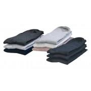 Komfort Socken, Gr.39-42, je 1 x natur/ beige/ grau