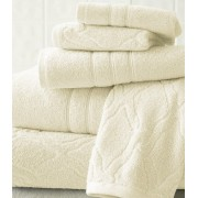 6 Piece Egyptian Cotton Jacquard Towel Set (chain)