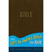 NIV, Gift and Award Bible for Kids, Imitation Leather, Navy, Red Letter by Zondervan Publishing