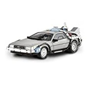 Hotwheels Elite 1:43 Back to the Future Delorean with Mr. Fusion Die Cast Model