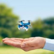 Jamara 422009 Micospy AHP + Mini-Drohne mit Kamera, Weiss